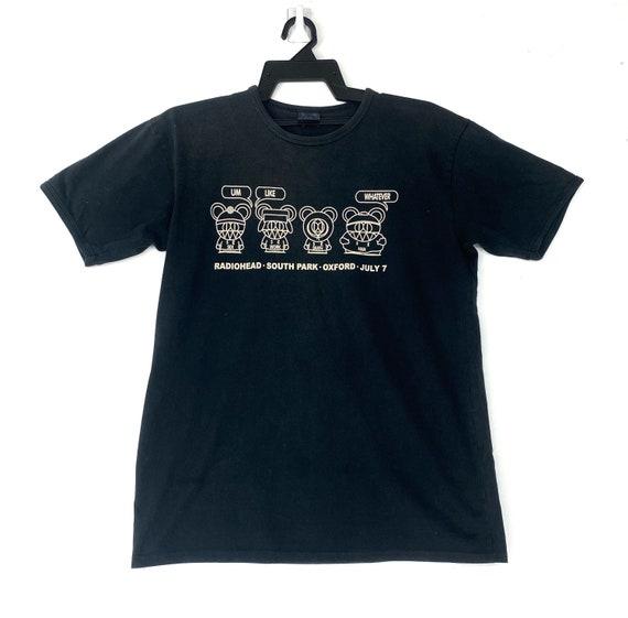 Vintage 90's Radiohead with South Park movie tshir