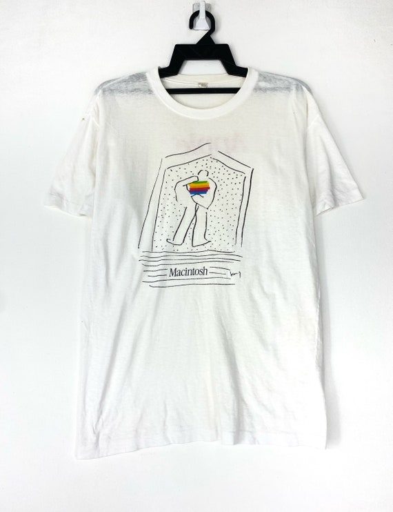Vintage nineties Apple Macintosh Steve job t-shirt