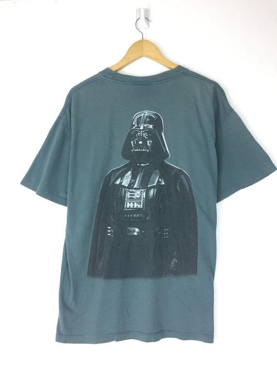 Vintage 90's Star Wars movie tshirt tee darth vade