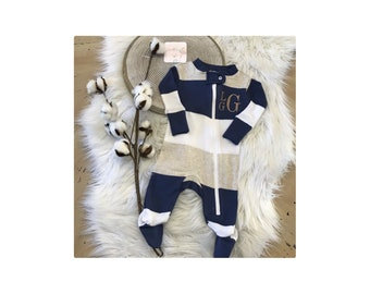 c11ba71253b Newborn boy coming home outfit personalized