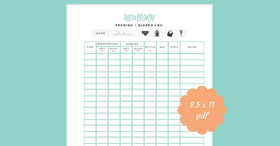 The Essential Breastfeeding Log A Feedings Tracker and Baby-Care Organizer for Nursing Moms