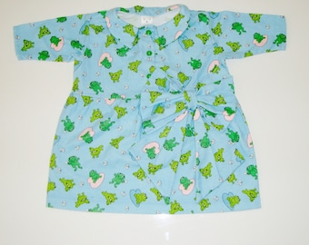 Little frogs-girl dress