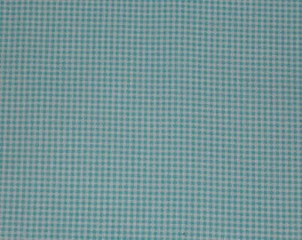 Gingham checkered turquoise 130 x 140 cm