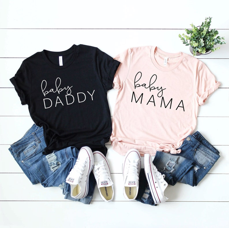 Pregnancy Announcement Shirt Couples Pregnancy Mom To Be Gift Etsy