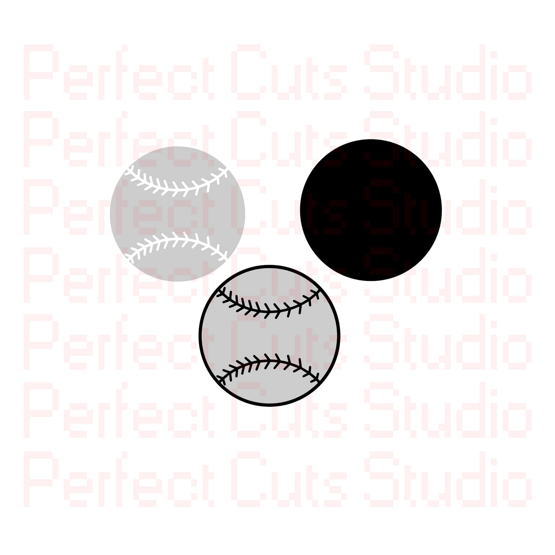 Baseball SVG und Studio 3 schneiden Datei Ausschnitte | Etsy
