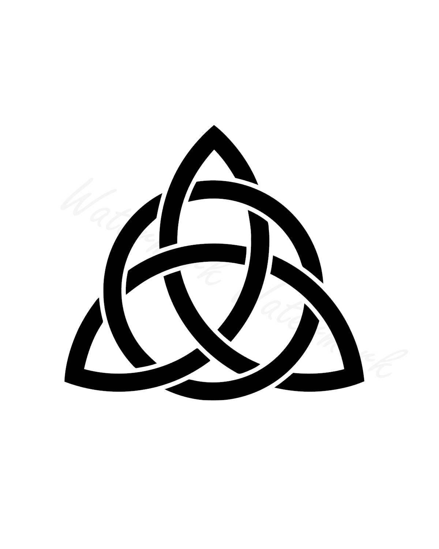 Celtic Trinity Knot Svg Studio 3 Cut File Stencils Cut Files Etsy