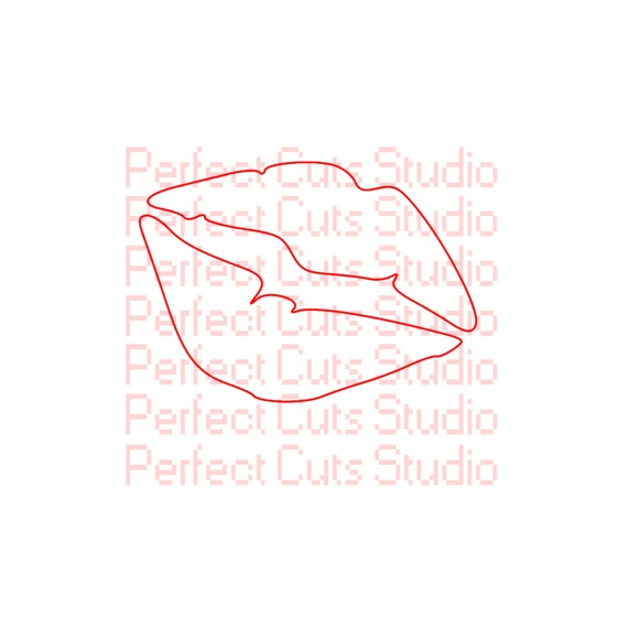 Lips Svg And Studio 3 Cut File For Cricut Silhouette Brother Etsy