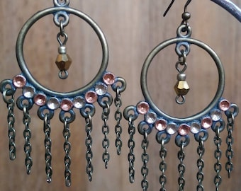 Pair of earrings ~ boho inspired ~