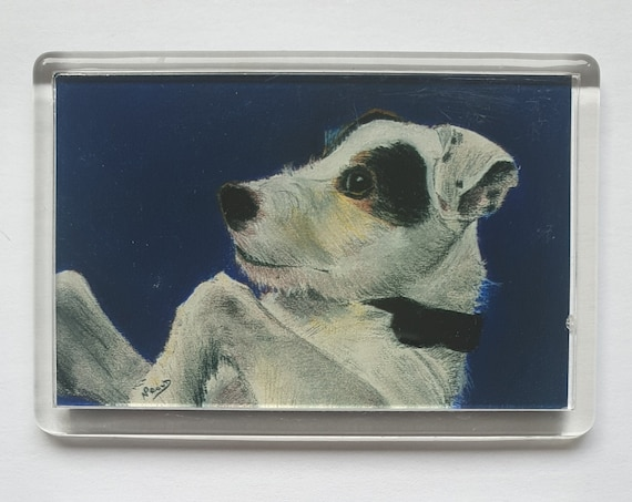 Parsons Jack Russell Terrier - Fridge magnet - 52 x 76 x 5mm