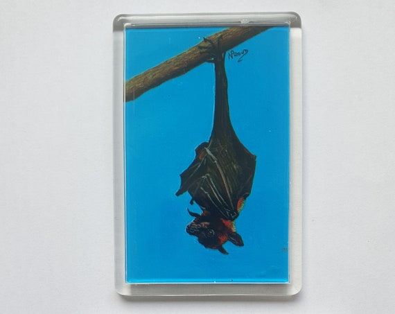 Bat - Fridge magnet - 76 x 52 x 5mm