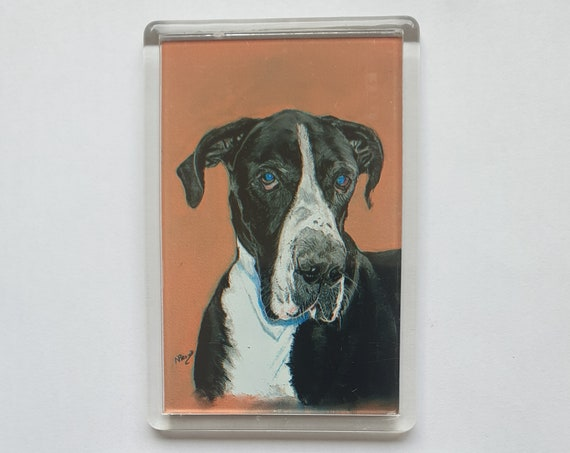 Great Dane - Fridge magnet - 76 x 52 x 5mm