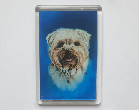 Lhasa Apso - Fridge magnet - 76 x 52 x 5mm