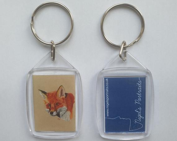 Fox - Key Ring - 54 x 34 x 5mm