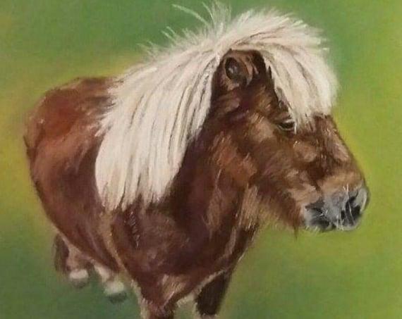 Bespoke Pastel Portrait of Your Horse
