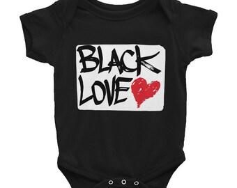 Baby Onesie: Black Love