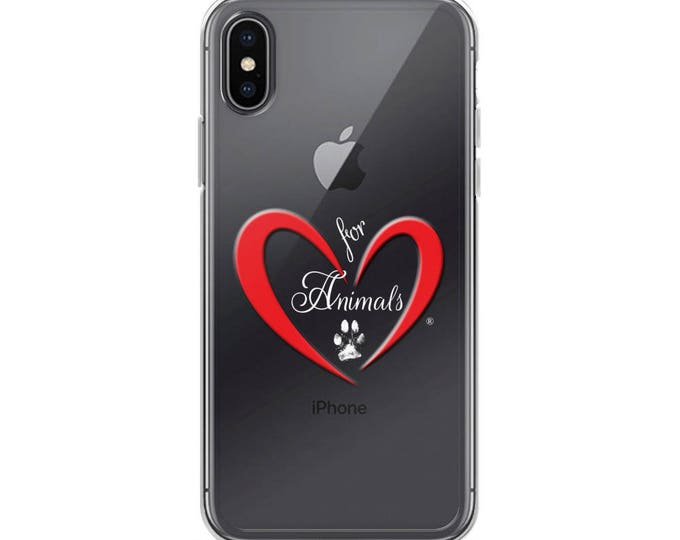 Heart of Love for Animals - iPhone X Case