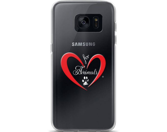 Heart of Love for Animals - Samsung Case
