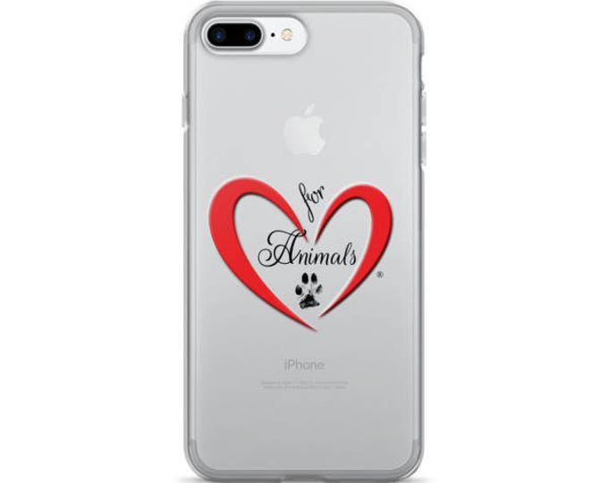 Heart of Love for Animals - iPhone 7/7 Plus Case