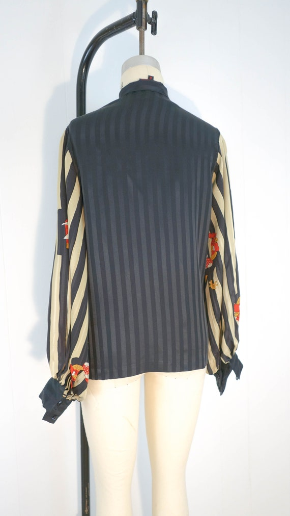 Vintage Vollbracht matching set. 100% silk, great… - image 6