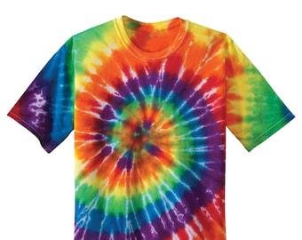 Koloa Surf Co Colorful Rainbow Tie-Dye T-Shirt - Sizes S-4XL