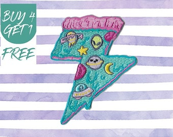 Pizza Patches Iron On Embroidered Patches Iron On