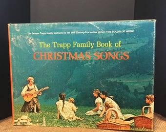 SIGNED, The Trapp Family Book of Christmas Songs, The Sound of Music