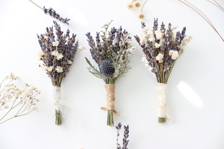 Lavender boutonniere for men purple boutonniere groom boutonniere buttonhole flower boutonniere wedding boutonniere dusty boutonniere