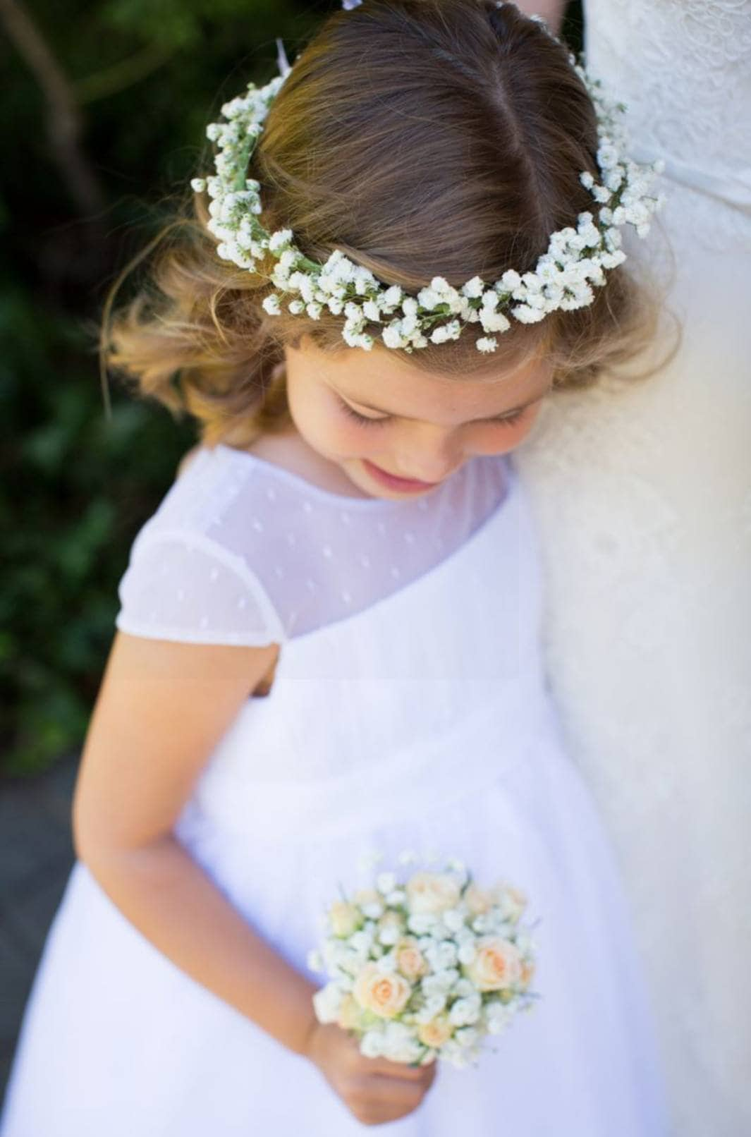 Babies Breath Flower Crown Made With Real Fresh Babys Breath