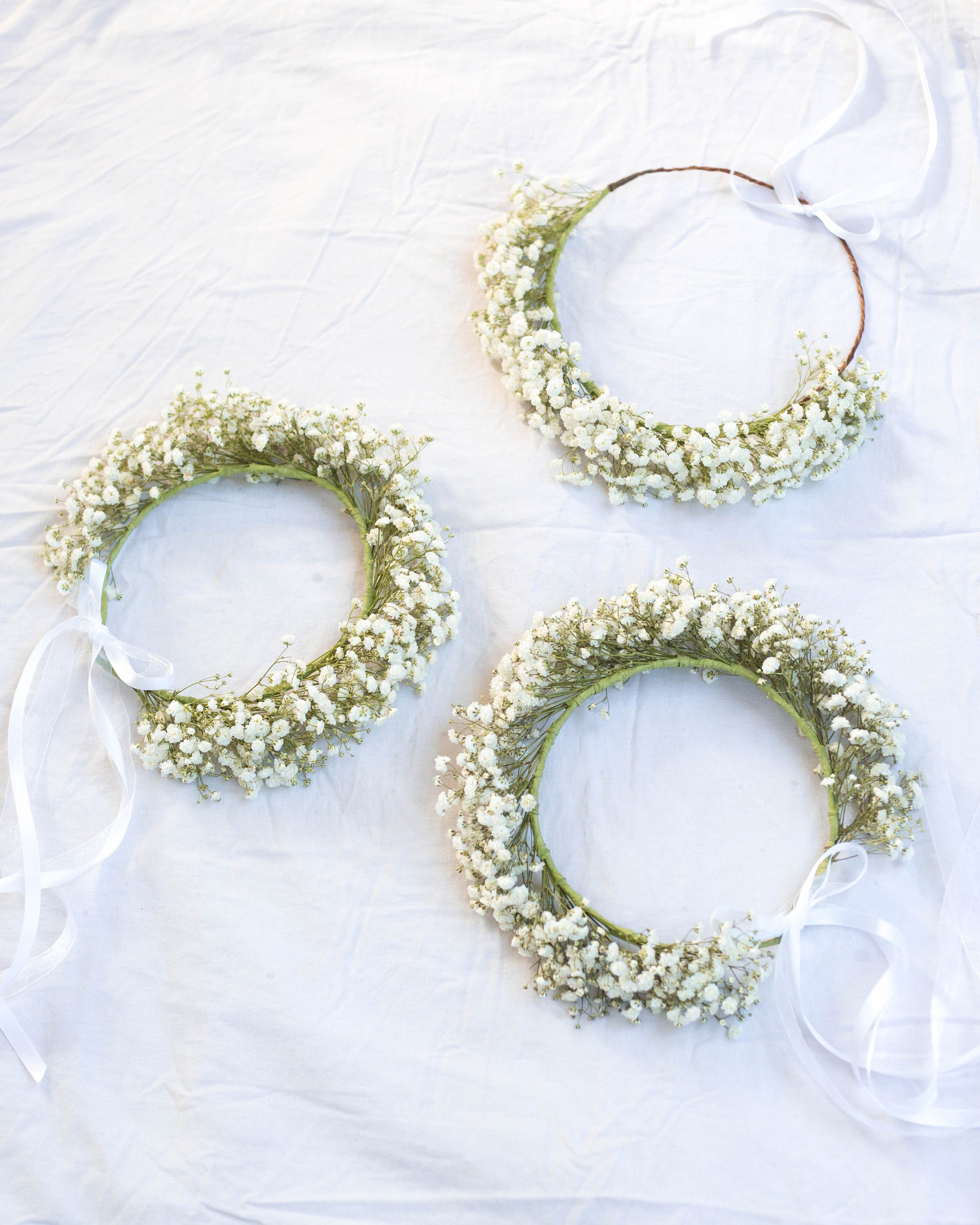 Babies breath flower crown made with real babys breath flowers babies breath flower crown made with real babys breath flowers dried babys breath floral halo photo props rustic crown best seller izmirmasajfo
