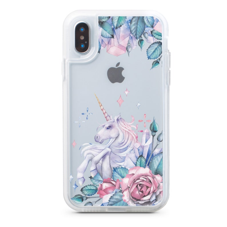 best loved 25f9d 90599 Unicorn Phone case 7 X Phone Case iPhone Case 8 Case iPhone 7 Plus iPhone  Case 8 Plus iPhone 6 Case iPhone Floral Case Unicorn Case CF4111