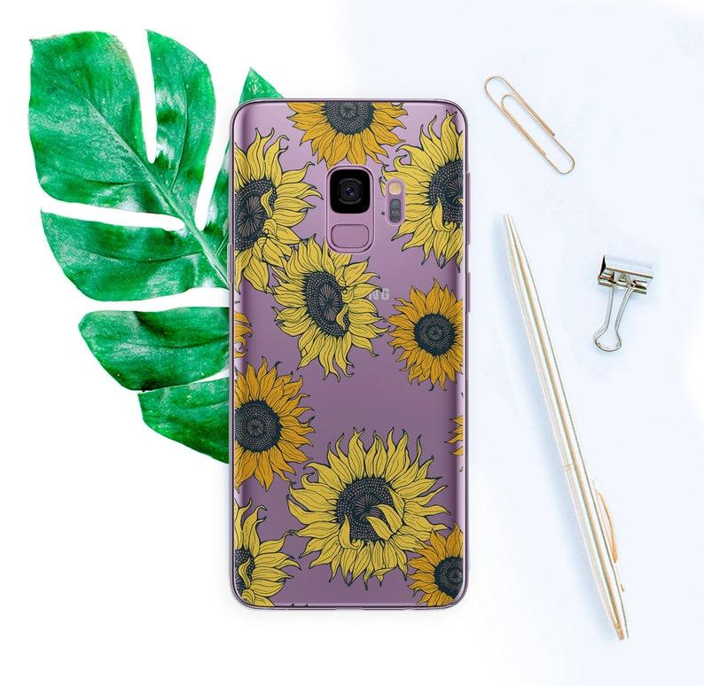 coque samsung s9 sunflower