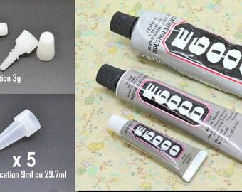 Glue tube rhinestone nail art e6000 jewelry professional