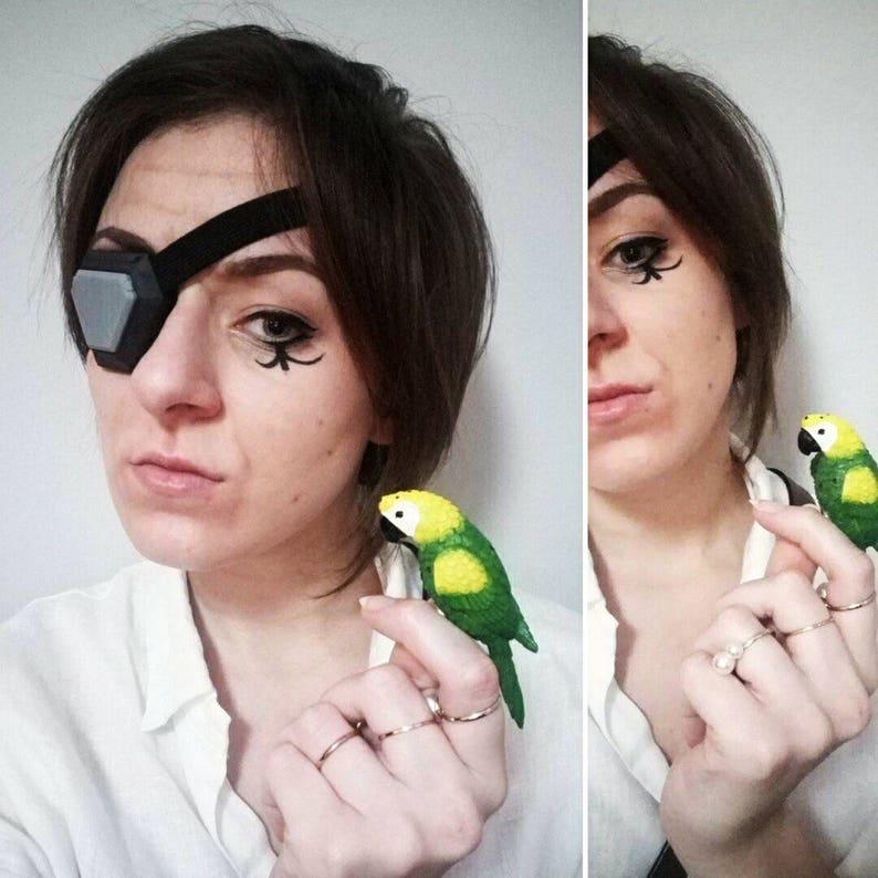 f71bbca040d Ana from Overwatch Corsair Eye Patch Halloween
