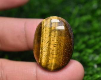 Golden Sheen Obsidian Pear Cabochon 40x20x5 MM 27 CTS Beautiful Cabochon, #3639