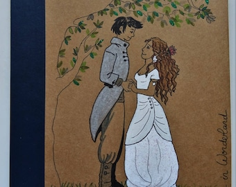 """Guestbook for wedding """"Tree"""" A5 lined 64 pages (32 sheets) * Guestbook for wedding A5 """"Tree"""" 64 lined pages (32 sheets). *"""