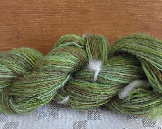 Bob Moss - Hand spun, hand dyed mini skein   *MS1037