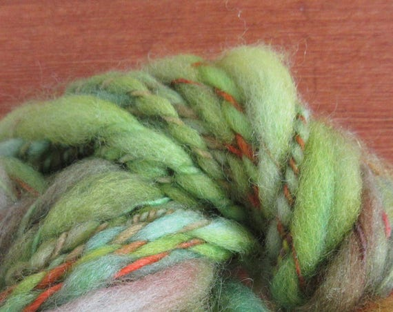 It's A Trap - Hand spun, hand dyed mini skein   *MS1031