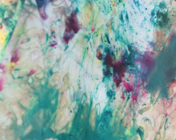 Featured Artist - Handpainted Silk Scarf