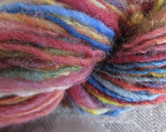 Prismish - Hand spun mini skein   *MS1025