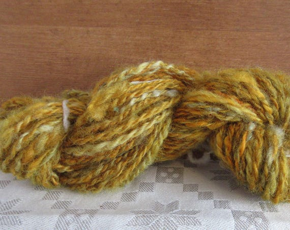 Dawn's Early Light. - hand spun , hand dyed, domestic wool *HSN1105
