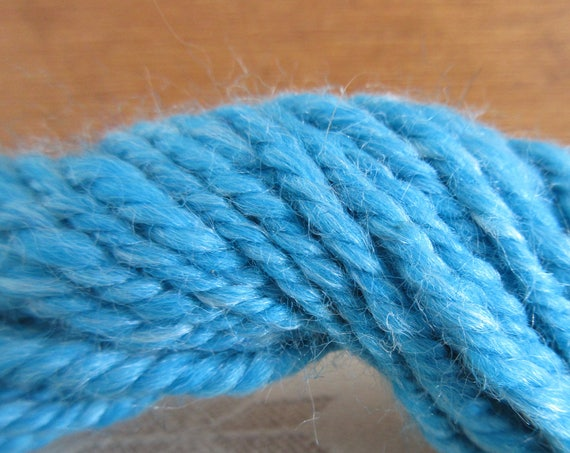 Teal for Two - Hand spun mini skein   *MS1027