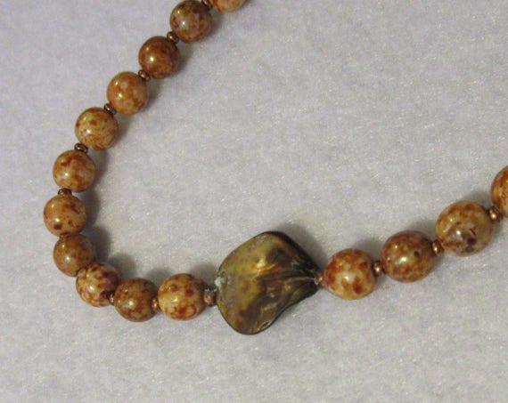 Mala - 57 Beads -Gold