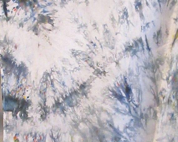 Follow Me - Handpainted Silk Scarf