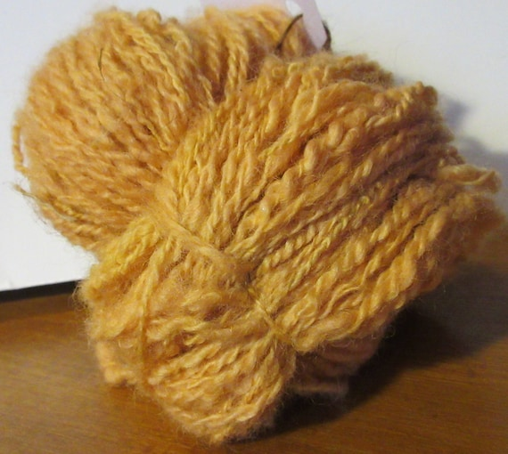 Comb Your Hair - Handspun, hand dyed, art yarn