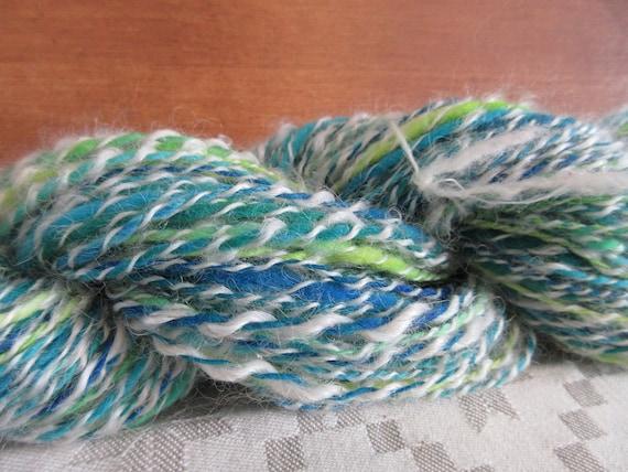 Janice's Joy - hand spun , hand dyed, domestic wool *HSN1103
