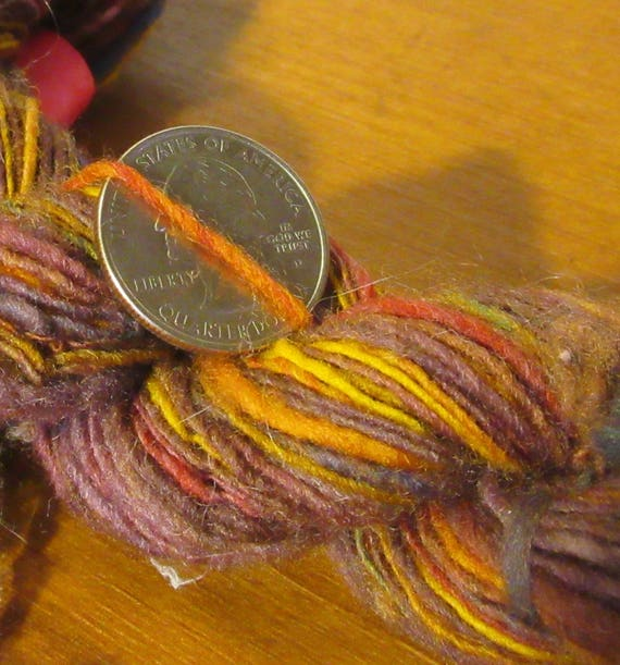 Trigger Happy - Finely spun hand dyed wool yarn