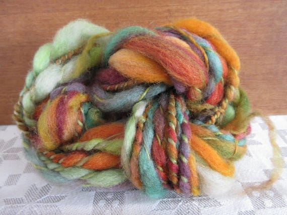 Alice's Rabbit Nest - Hand spun, hand dyed mini skein   *MS1030