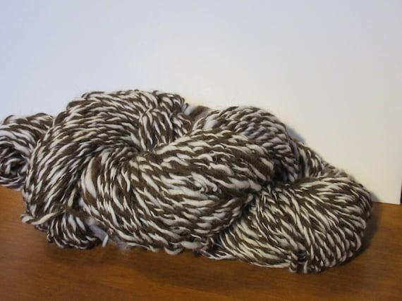 Tweed Me Kindly - Shetland/Targhee blend and Merino Wool Handspun yarn