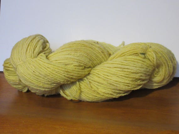Shy - Handspun, Hand Dyed, domestic wool yarn