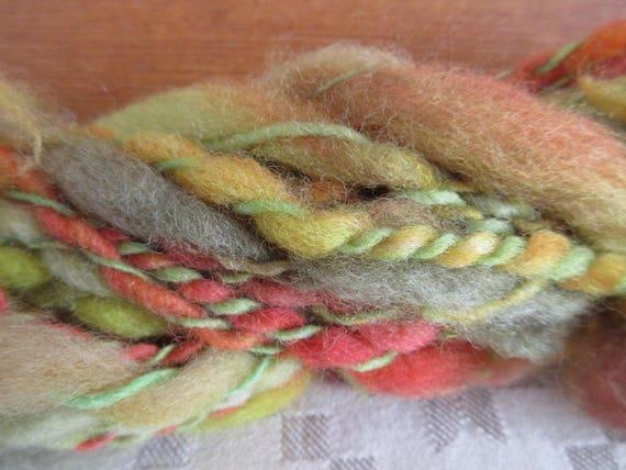 Herman - Hand spun, hand dyed mini skein   *MS1029